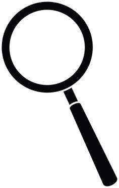 236x372 Magnifying Glass Clipart