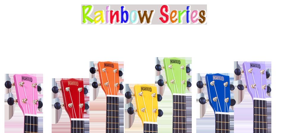960x449 Mahalo Coloured Ukulele Rainbow Series Sieffs Music World