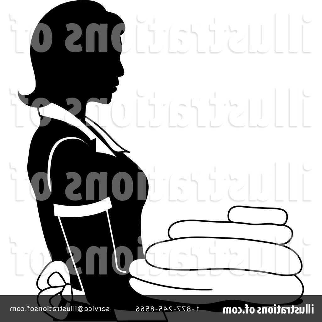 1024x1024 Best Royalty Free Rf Maid Clipart Illustration By Pams Stock