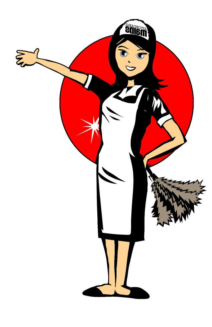 736x1134 Best Hd Cleaning Maid Clipart Clipartcow Cdr