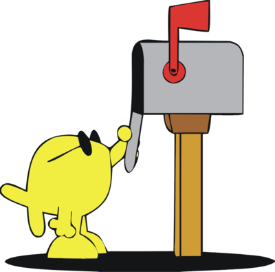 400x395 Mailbox Mail Clip Art Of A Mail Together With Cartoon