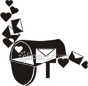 Mailbox Clipart Black And White Free Download Best Mailbox Clipart