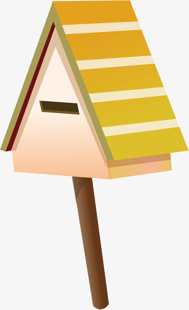 650x1069 Mailbox Vector Png Vector Element, Mailbox Vector, Cartoon, Woody