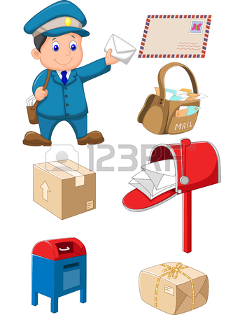 343x450 1,375 Mailman Uniform Stock Vector Illustration And Royalty Free