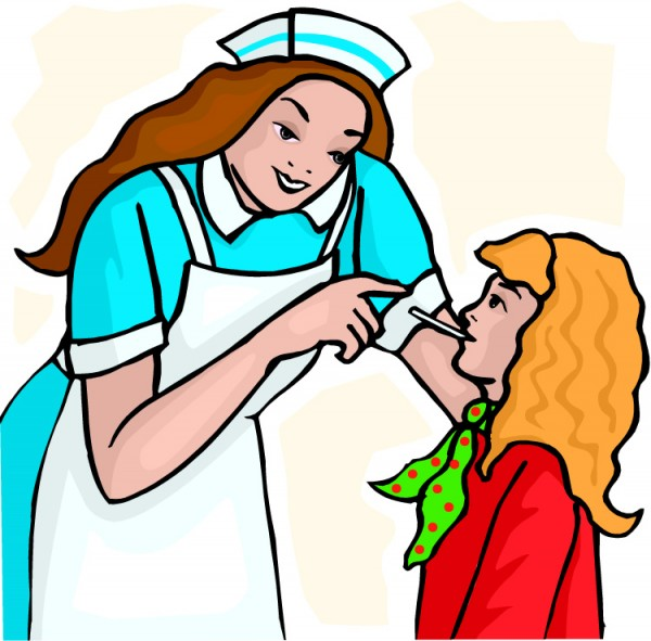 600x591 Free School Nurse Clip Art