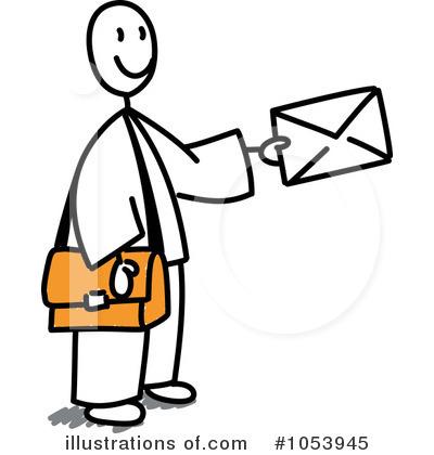 400x420 Mailman Clipart