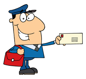 300x276 Mailman Clipart Image