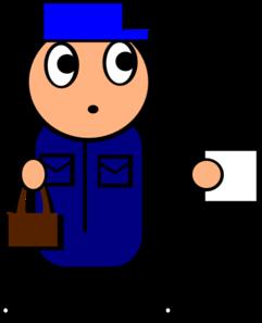 241x297 Postman Clip Art