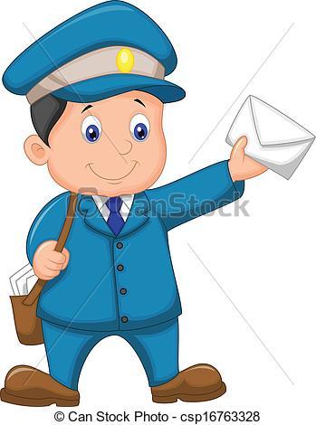 349x470 Postman Clipart