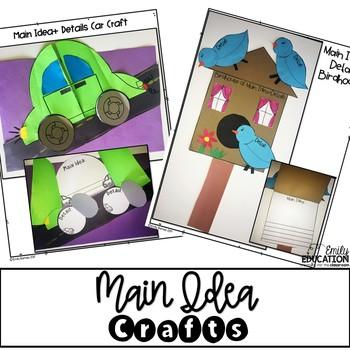 350x350 Main Idea Craft Activities By Emily Education Teachers Pay Teachers