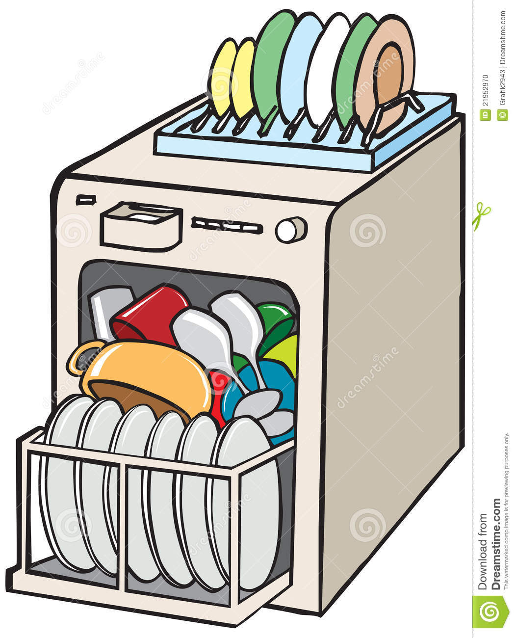 1052x1300 Dishwasher Not Working Clip Art Cliparts