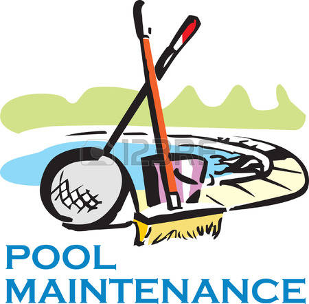 450x442 Swimming Pool Cleaning Clip Art Cliparts