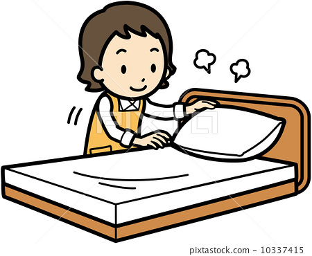 450x370 Bed Clipart Cartoon Making