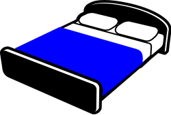 250x169 Made Of A Bed Clipart 1933889