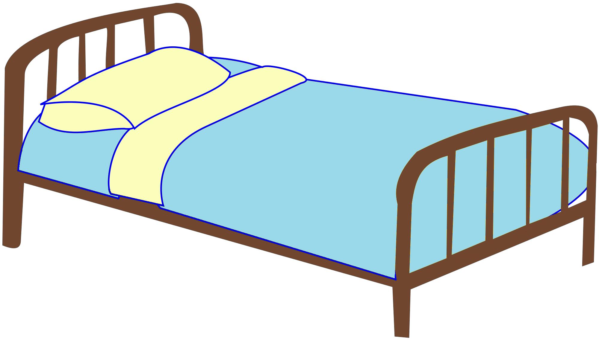 2000x1137 Bed Clip Art