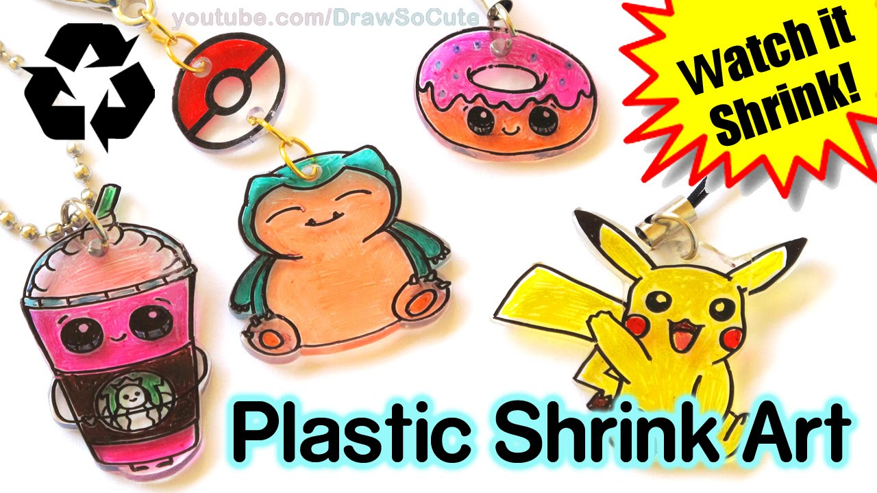 1280x720 Diy How To Make Shrink Charms With Recycled Plastic Step By Step