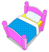 162x170 Bed Clipart For Kid