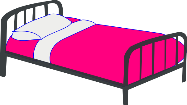 600x338 Bed Clipart Cute