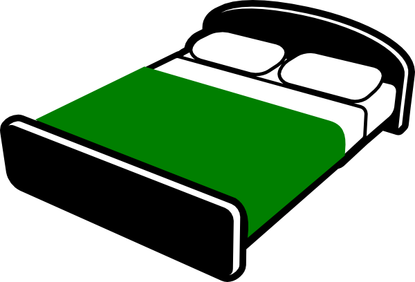 600x408 Green Cover Making Bed Clipart