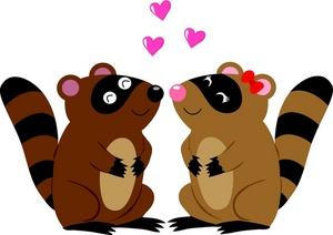 300x212 Free Raccoons Clipart Image 0071 0908 3022 2845 Valentine Clipart