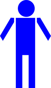174x300 Male Clipart Image