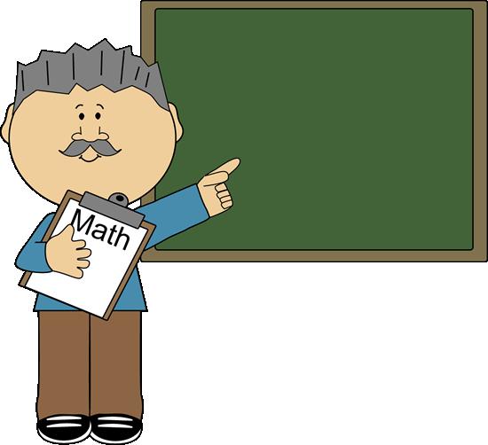 550x502 Male Teacher Clipart