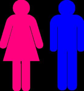 276x298 Symbol Male And Female Clip Art