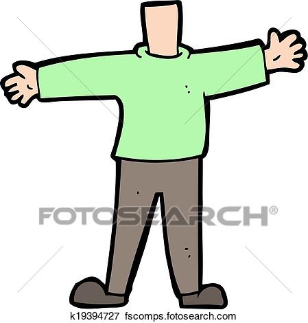 449x470 Clip Art Of Cartoon Male Body (Mix And Match Cartoons Or Add Own