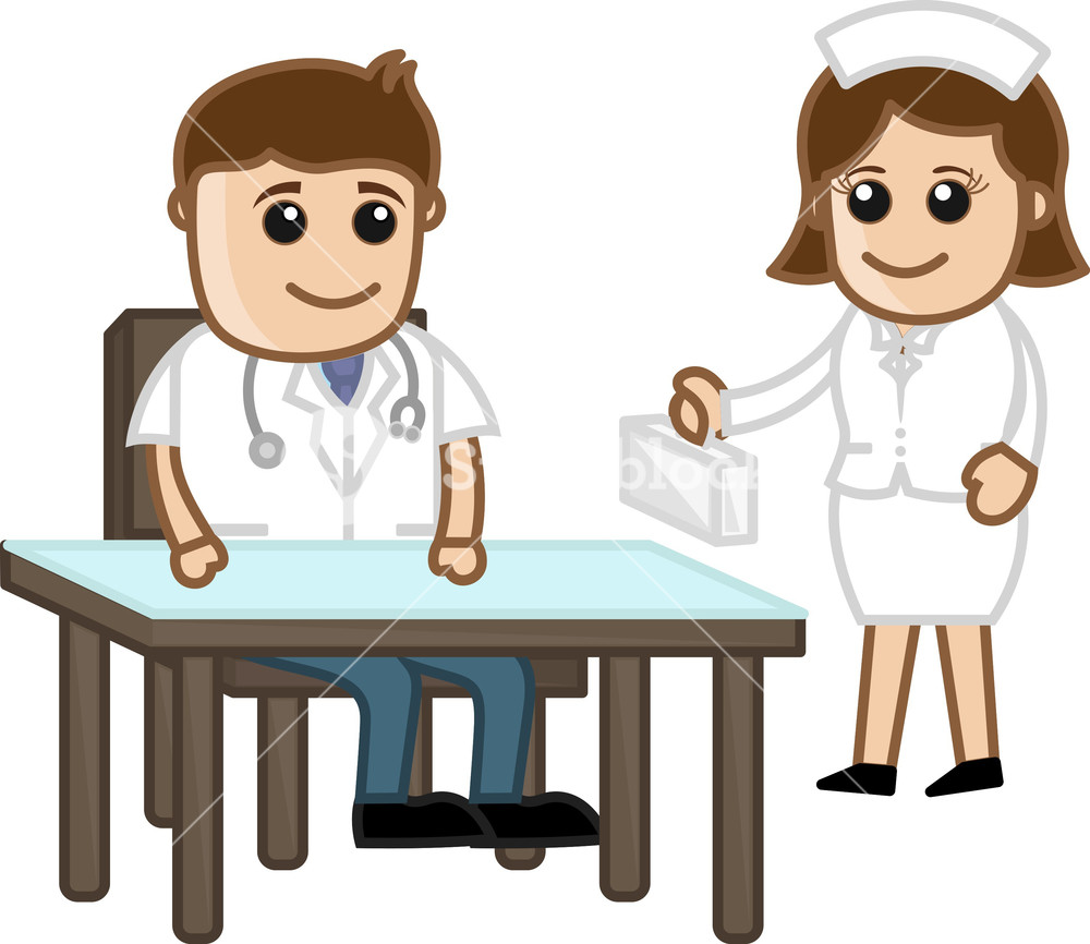1000x866 Doctor And Nurse