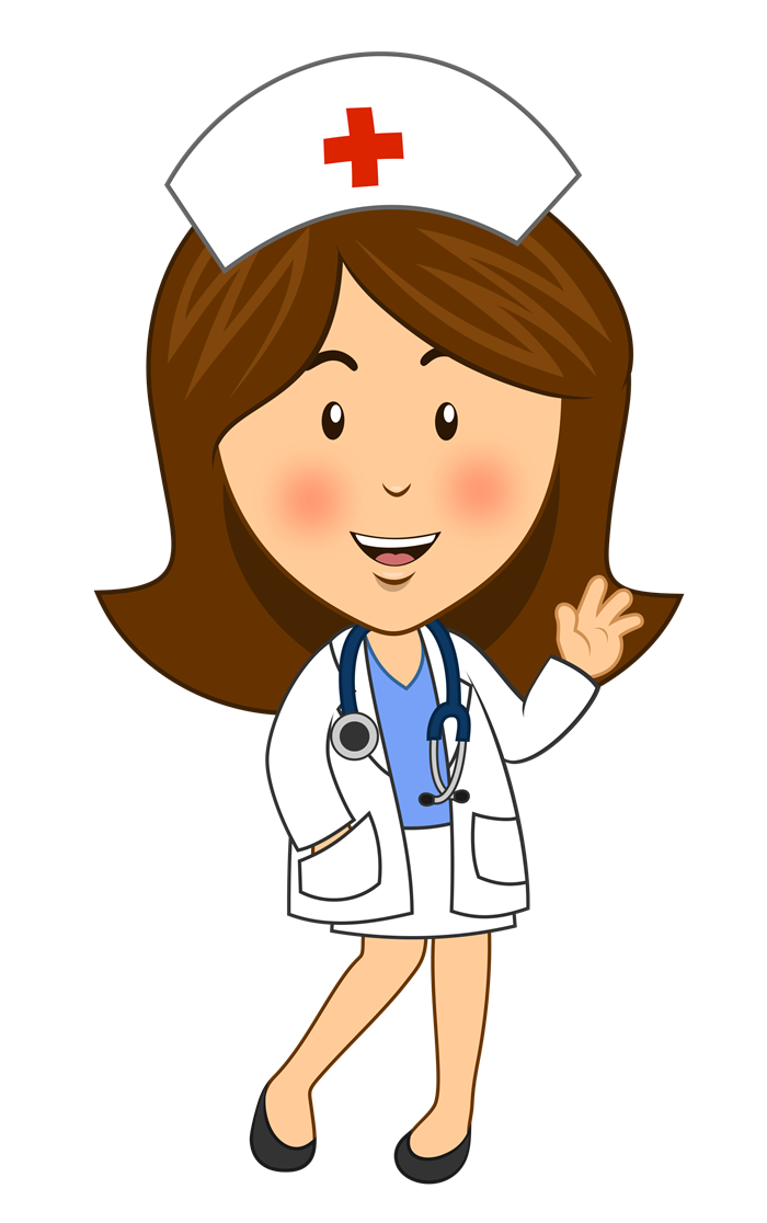 700x1116 Free Cartoon Nurse Clipart