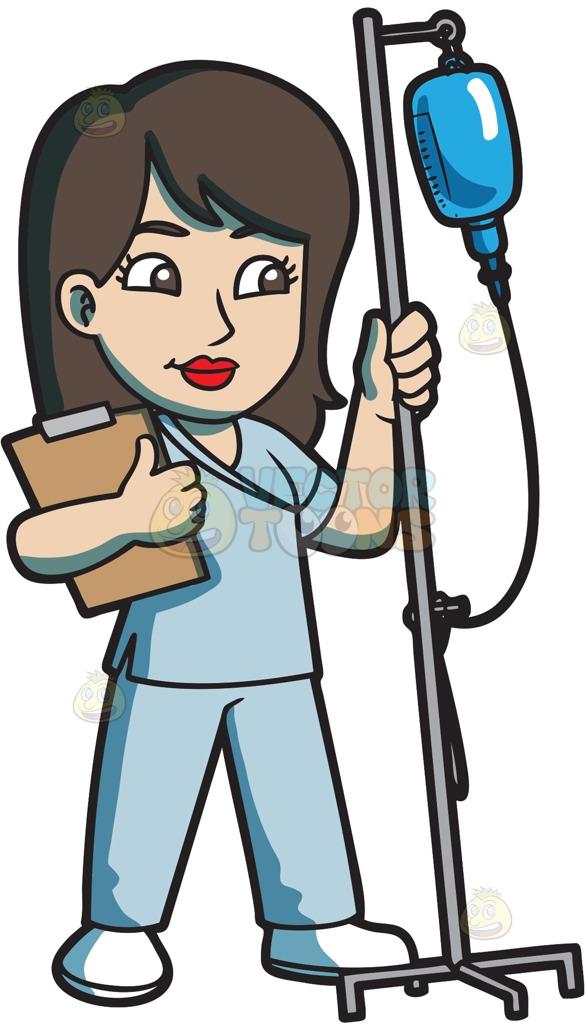585x1024 Graphics For Nurse Cartoon Graphics