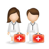 170x170 Male And Female Nurse Clipart