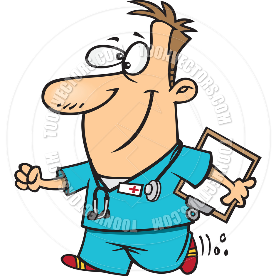 940x940 Male Nurse Cartoon Clipart
