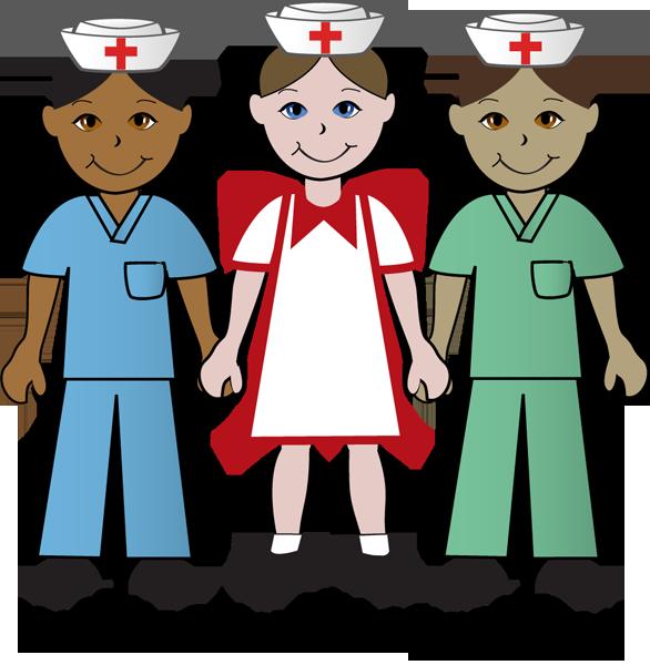 586x600 Male Nurse Clipart