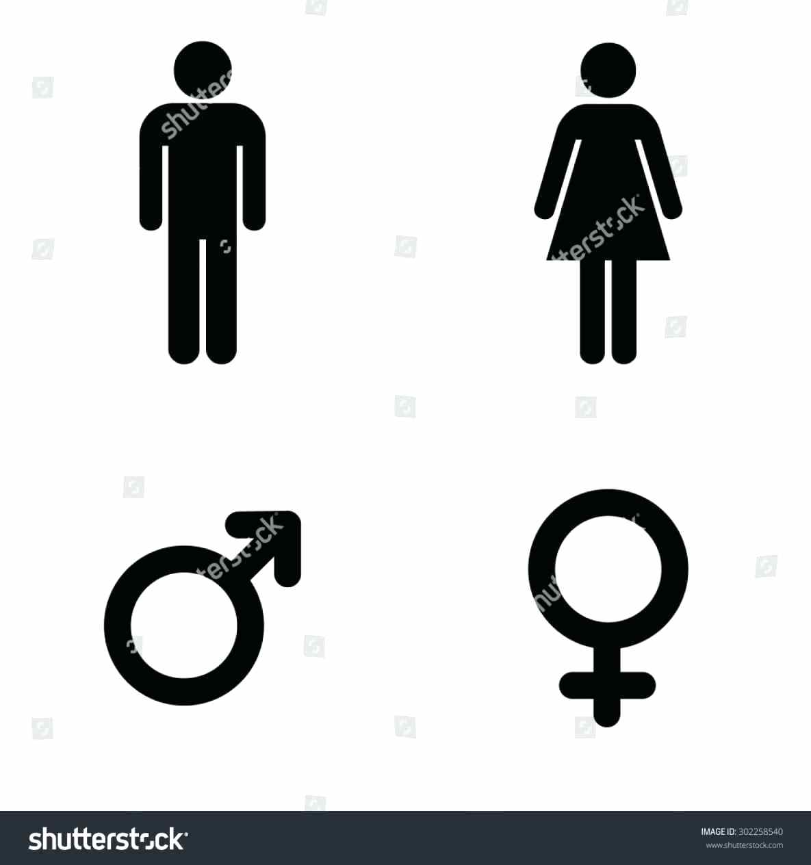 Bathroom Sign People Thedancingpa Com