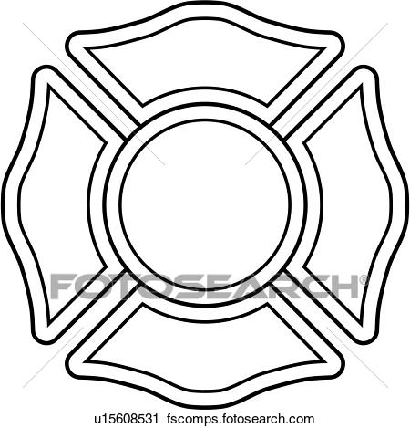 450x469 Clipart Of , Cross, Department, Emergency, Emergency Services