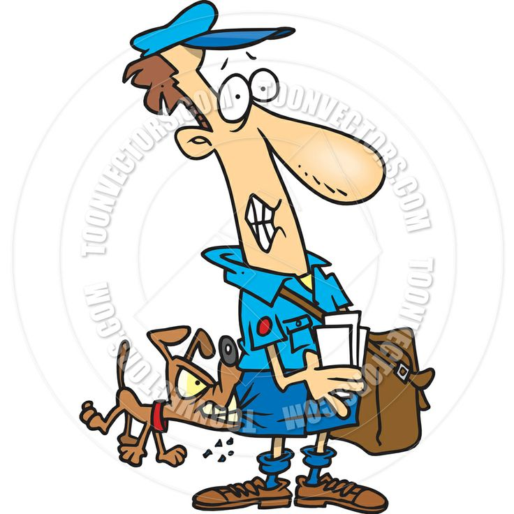 Man And Dog Clipart