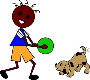 300x269 Pet Cartoon Clipart Image