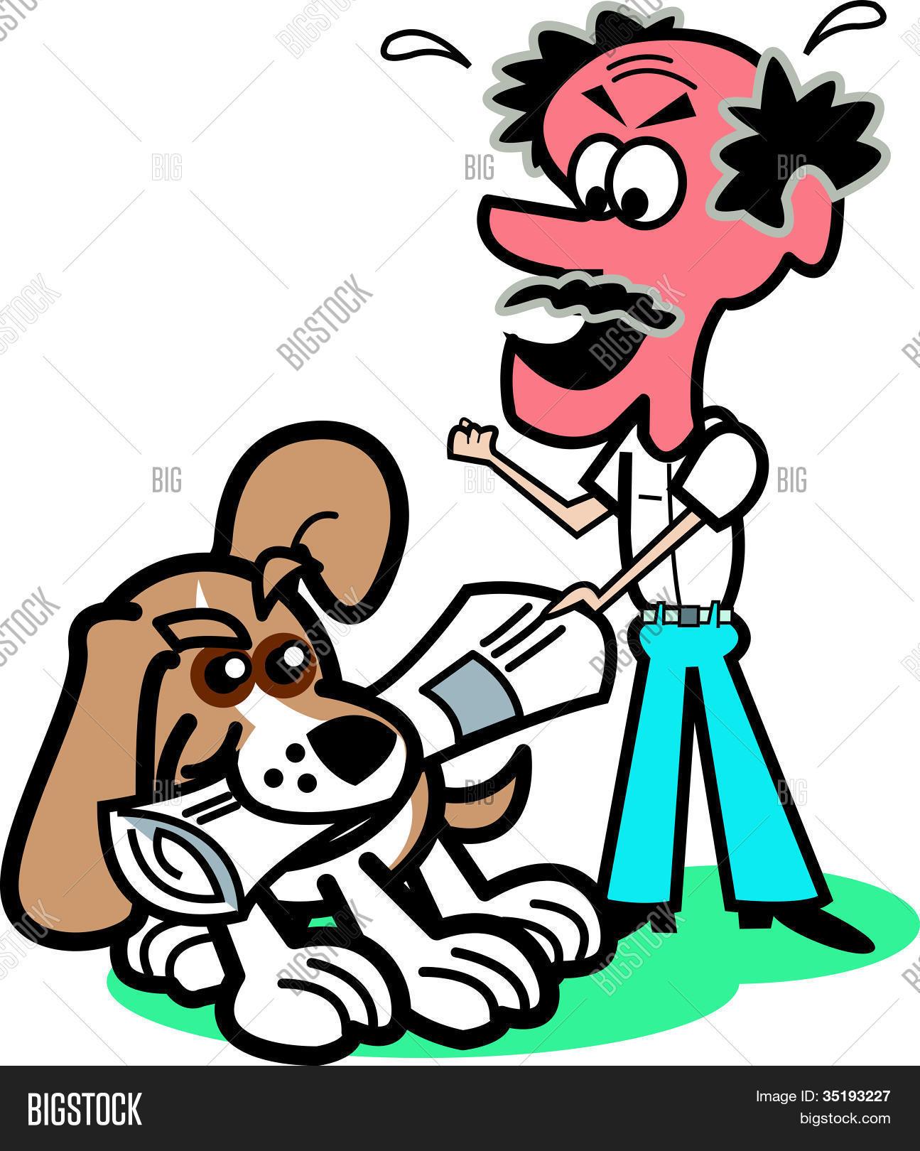 1295x1620 Beagle Dog Clip Art Newspaper Vector Amp Photo Bigstock