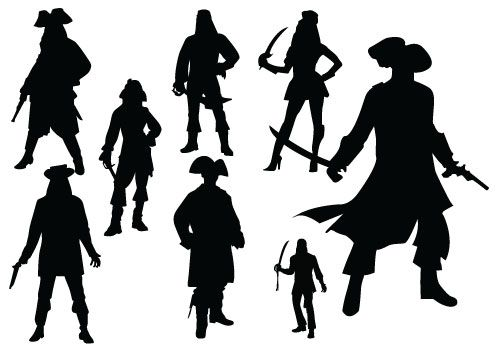Man And Woman Silhouette Clipart