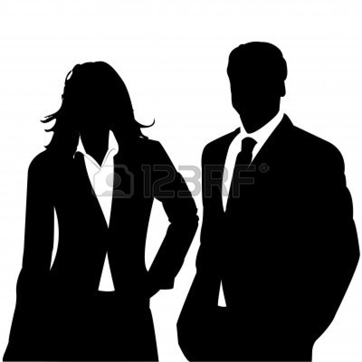 1200x1200 Business Clipart Silhouette