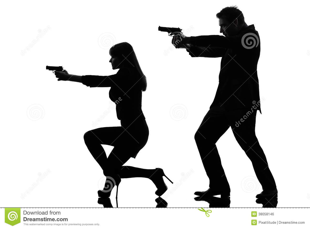 1300x958 Gun Clipart Silhouette Woman