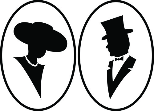 500x362 Man Silhouette Free Vector Download (7,402 Free Vector)