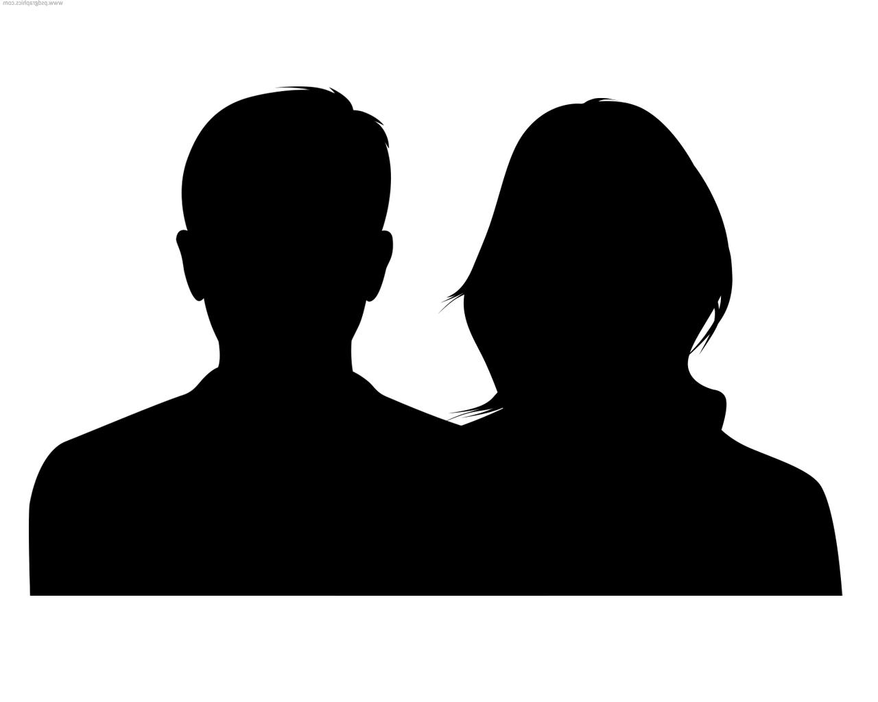 1280x1024 Best Free Male And Female Silhouette Vector Design Free Vector