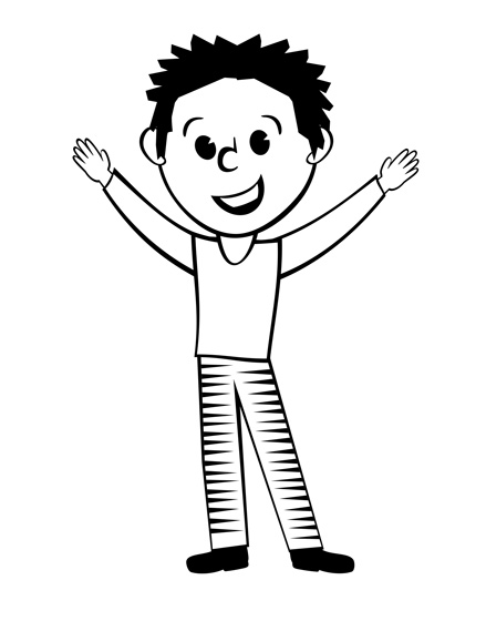 439x560 Man Clipart Black And White