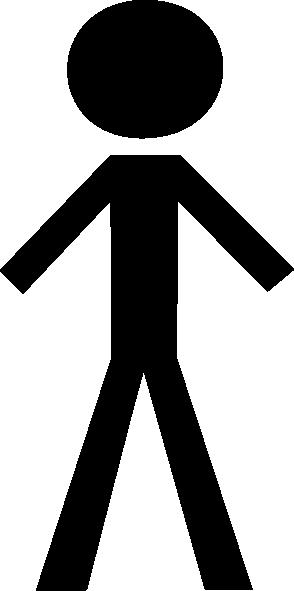 294x591 Black Man Clip Art