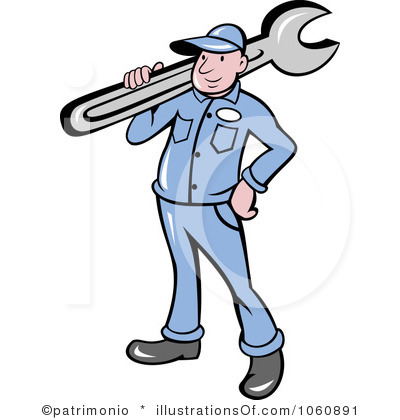 400x420 Man Clipart Plumbing