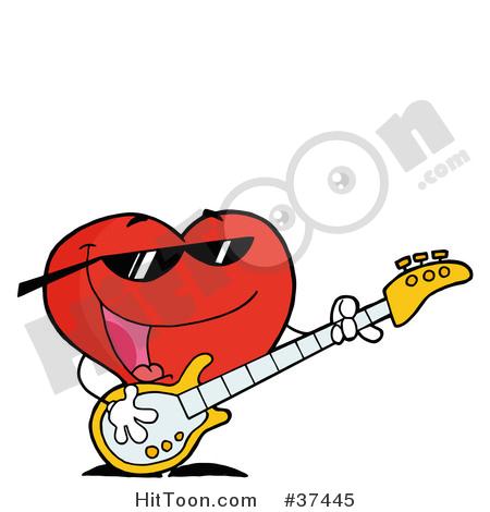 450x470 Heart Clipart