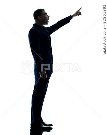 356x450 Business Man Standing Silhouette Isolated