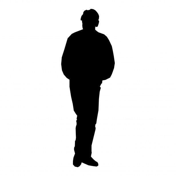 615x615 Classy Clipart Man Standing